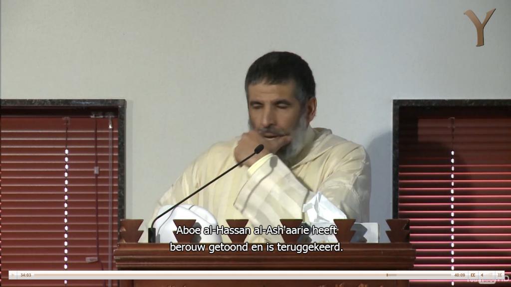 Rachid Nafi reactie op Imam al-Bakkali