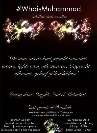 #WhoIsMuhammad Shaykh Said Mokadmi