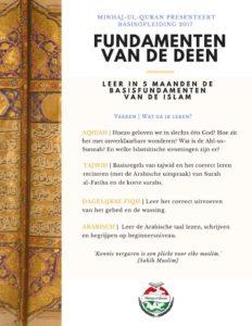 Basisopleiding: Fundamenten van de Deen - Arabische taal (Begrijpen en spreken)