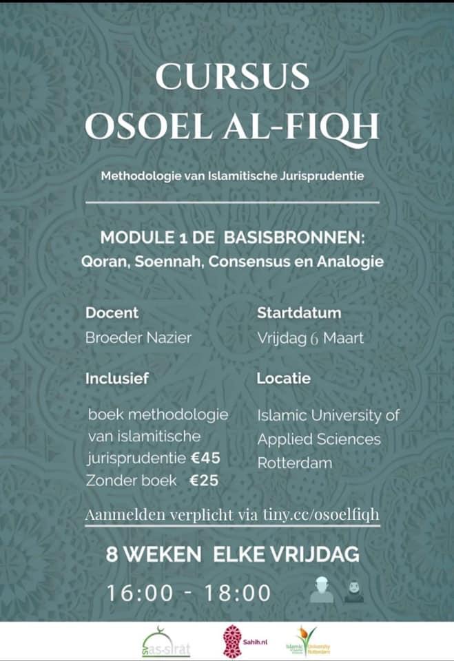 Beveiligd: Cursuspagina Usul al-Fiqh 2020