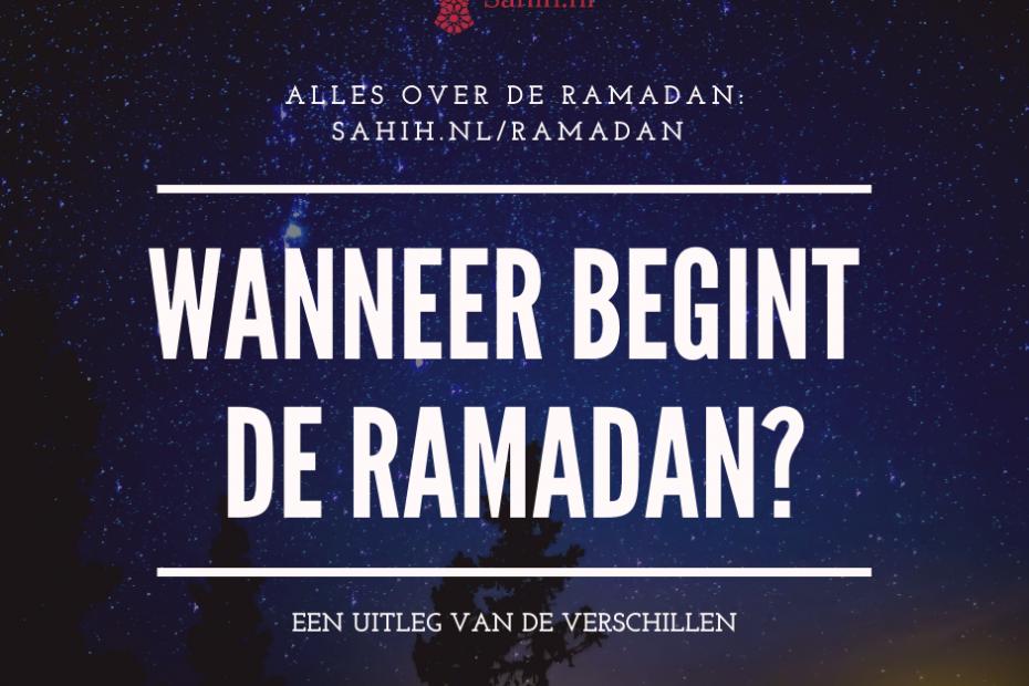 Begin Ramadan